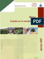 Morocco cannabis survey 2005