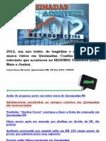 Queimadas Acontece Restrospectiva 2012 - Confira tudo de mais relevante que aconteceu no SEGUNDO Trimestre (Abril, Maio e Junho)