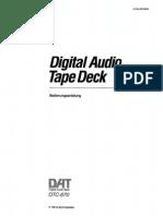 Sony Dat Dtc-670