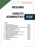 Resumo Administrativo