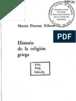Historia de la religión griega, por M. Persson Nilsson