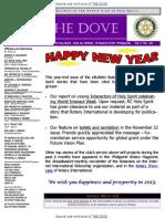 THE DOVE of RC Holy Spirit WB V No. 19 December 27, 2012