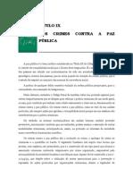 Volume 03 - tÍtulo Ix – Dos Crimes Contra a Paz pÚblica