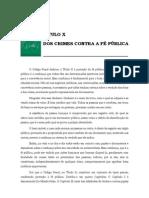 Volume 03 - tÍtulo x – Dos Crimes Contra a fÉ pÚblica