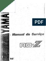 manual serviço rdz