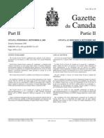 g2-13919_r3 Canada Gazette - Biotech