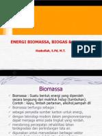 Eenergi Biomassa & Biogas