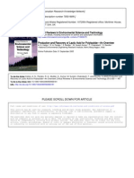 Production and Recovery of Lactic Acid for Polylactide - An Overview