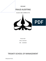 RESUME Fraud Auditing
