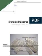 Cristales Maestros Laser