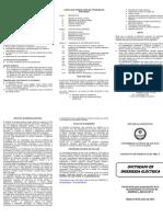 Folleto doctorado 2012_DOCTORADO EN INGENIERÍA ELÉCTRICA