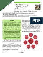 Importance of Cattle Biodiversity