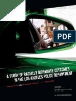 LAPD Racial Profiling Report - ACLU