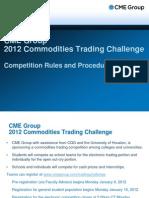 2012 trading challenge
