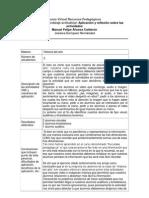 Aplicación y reflexión sobre las actividades (Jessica Enríquez y Felipe Álvarez)