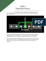 UNIT1 Fabrication Process