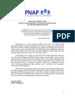 IPNAP Position Paper Updated 01 Mar 2011