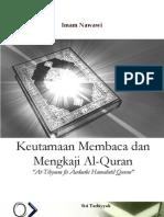 Keutamaan Membaca Dan Mengkaji Al-quran
