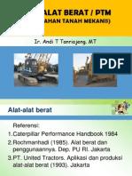 49129903 Alat Alat Berat PTM