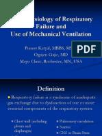 Respiratory Failure Mechanical Ventilation