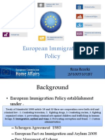 European Immigration Policy