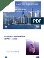 Marine Fuels