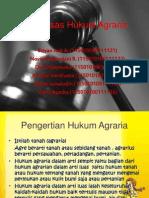 Asas Asas Hukum Agraria Kelompok 3