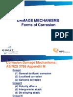 3. Damage Mechanisms Forms of Corrosion V1
