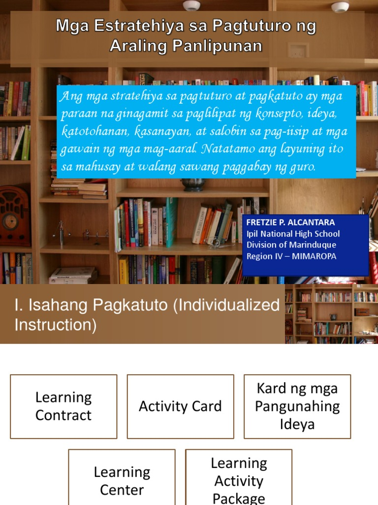 mga kaugnay na pag aaral ng estratehiya sa pag aaral Republic of the philippines department of education deped complex, meralco avenue pasig city k (baitang 1 may 2016 to 12 gabay pangkurikulum.