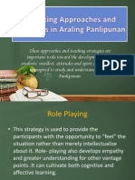 Revisiting Approaches and Strategies in Araling Panlipunan