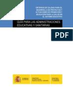 Criterios Calidad P y EpS Escuela MSC-MEC,2008