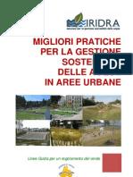 Migliori pratiche per la gestione integrata sostenibile delle acque in aree urbane