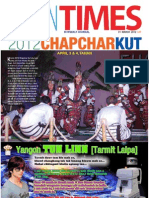 Tahan Times Journal- Vol. 1-No. 19, March 31, 2012