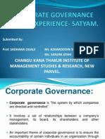 Satyam Presentation- Final