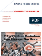 HUman Effect of Radiaition