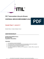 ITIL v3 CSI Sample Questions2