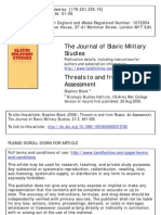 sl.blank.threats to and from russia:an assessment