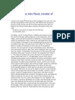 John Flavel the Life of the John Flavel