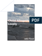 John Flavel. Christ Altogether Lovely