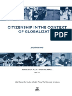 Citizenship and Globalization