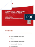 Conductores Linea Transmision