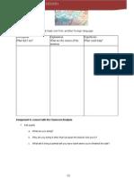 classroom analysis