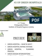 Planning of Green Hospitals