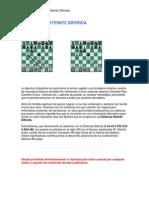 EDAMI_Apertura Española Variente Steinitz Diferida