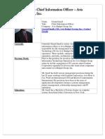 Gerard Insall Chief Information Officer Avis Budget Group, Inc.