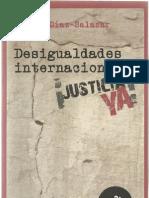 Díaz Salazar Rafael - Desigualdades internacionales justicia ya