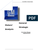 General-Motors-Strategic-Analysis