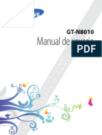 Manual Samsung Galaxy Note 10.1 N8010