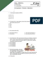 Matematica - 6 Ano - EF9