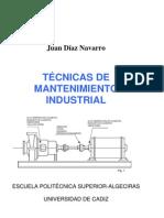 Tecnicas de mantenimiento industrial Juan Díaz Navarro